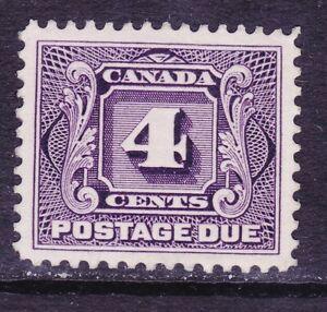 Canada J3 MNH OG 1928 4c Postage Due Issue VF-XF Scv $120.00