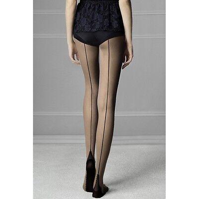 Donna Calze Opaco 50 DENARI Plain Top Burlesque Calze XL-XXL