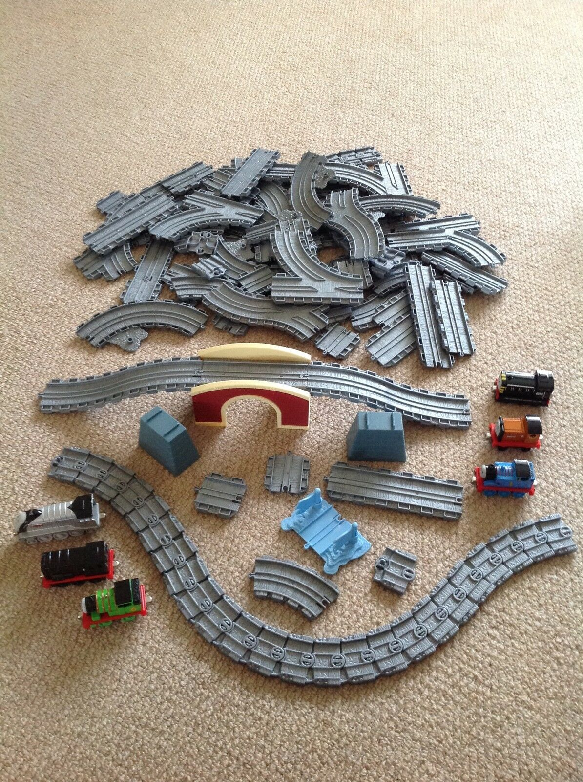 Thomas And freunde Take n Play  - 6 Engines & Track Sets Bundle