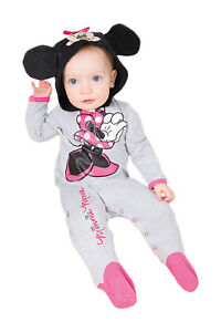 Disney-Baby-Childs-Licensed-Minnie-Mouse-Toddler-Romper-Suit-Fancy-Dress-Costume