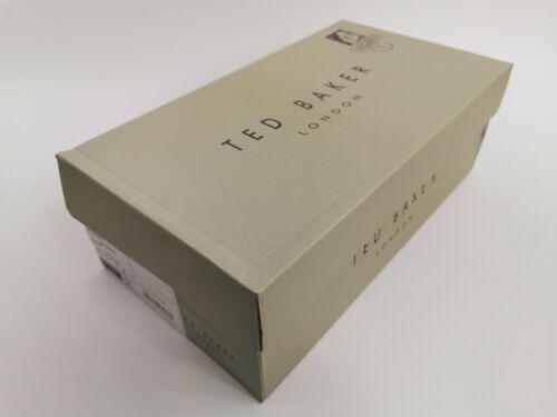 Ted Baker Hommes Enfiler Baskets Chaussures Daim laine-Bleu-UK 7 To 10-RRP £ 90