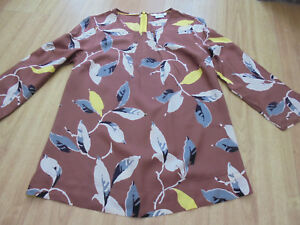 BODEN-new-pattern-easy-printed-top-size-10-bnwot