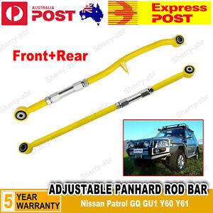 For-Nissan-Patrol-GQ-GU1-Y60-Y61-Series-Adjustable-Panhard-Rod-Bar-Front-Rear