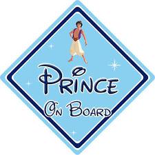 Disney Prince On Board Car Sign – Baby On Board Car Sign – Aladdin