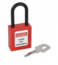 CK Kasp K80040 Nylon Safety Padlock 38mm **FREE P&P**