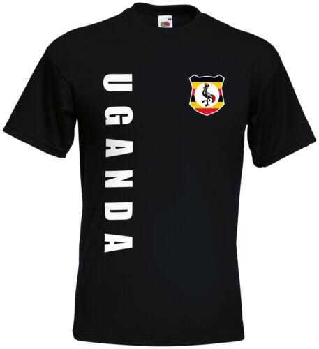WM 2018 Uganda T-Shirt Trikot Name Nummer