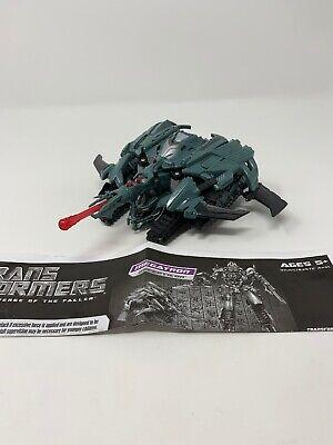 Transformers Revenge of the Fallen Megatron Complete Voyager ROTF