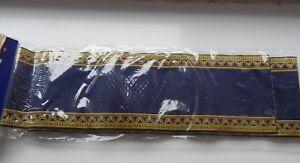 Beauiful Bleu Escalier Tapis Pour La Maison De Poupées-afficher Le Titre D'origine Gamme ComplèTe D'Articles