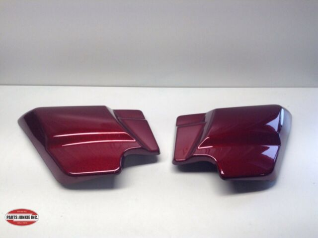 HARLEY DAVIDSON 2018 SIDE COVERS RED HARD CANDY 66048-09A 66250-09 TOURING FLHXS