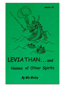 Details about Leviathan   and Names of Other Spirits - Booklet #19 by Win  Worley