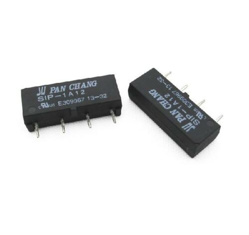 1pcs 12V Relay SIP-1A12 Reed Switch Relay 4PIN Relay for PAN CHANG Relay