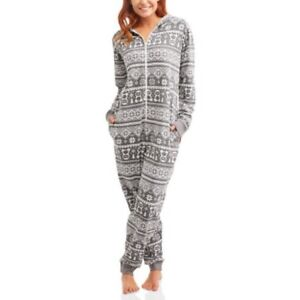 5d4d1778a Body Candy Women s S Pajama Knit Union Suit One Piece Sleepwear With ...