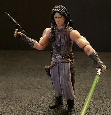 Star Wars 30th Comic Pack Quinlan Vos Jedi Tracker Loose Complete Figure