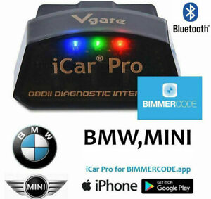 Details about Vgate iCar Pro Bluetooth BLE 4 0 BIMMERCODE BMW Coding iPhone  iPad Android OBD2