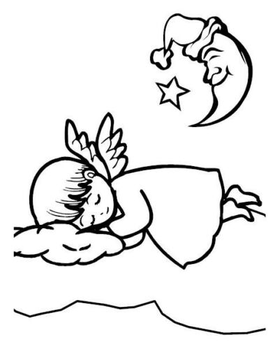 """36 Malvorlagen /""""Angels // Engel/"""" Malbuch Ausmalbilder als PDF Kinder malen"""