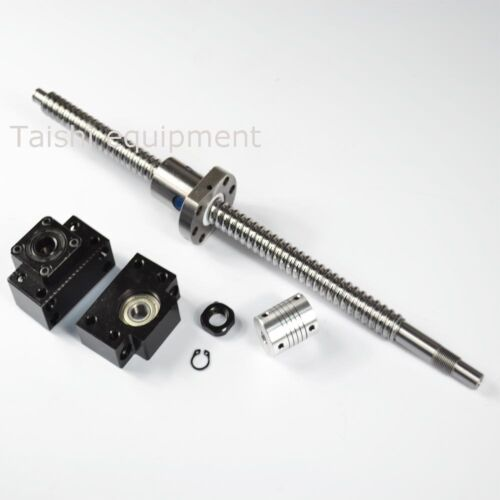 1 ANTI BACKLASH BALLSCREW RM1605-1000MM BALL SCREWS+1 SET BK//BF12+1 PCS COUPLERS