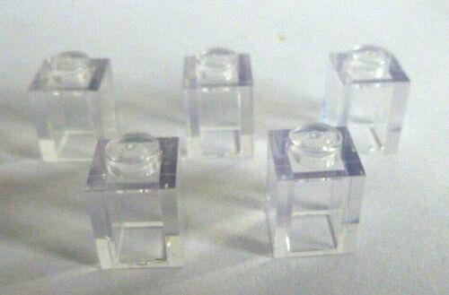 5 x lego ® 30071 bloque de creación transparente 1x1 piedras en claro transparente productos nuevos.