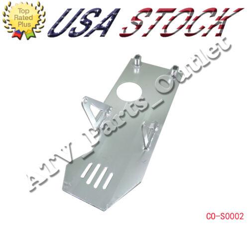 Silver Skid Plate for XR50 CRF50 XR70 CRF70 110 125cc dirt pit bike