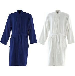 28d98e408a Adult Unisex Towel City 100% Cotton Terry Luxury Kimono Robe ...