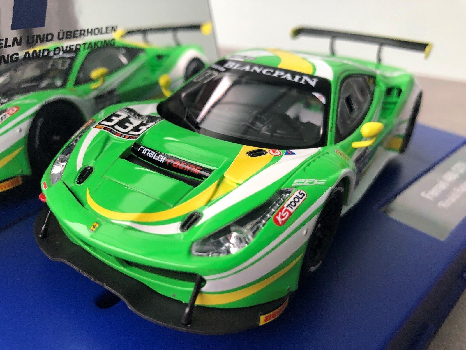 Carrera Digital 132 30847 20030847 Ferrari 488 GT3   Rinaldi Racing,Nr. 333