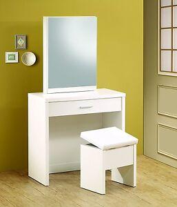 Image Is Loading Wood Bedroom Vanity Set Modern Makeup Desk Dressing