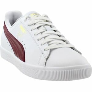 timeless design 25f06 18551 Details about Puma Clyde Core Foil Casual Sneakers - White - Mens