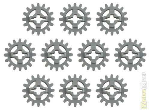 10x LEGO® Technic 94925 Zahnrad//Zahnräder 16 Zähne neu-hellgrau NEU grey gear