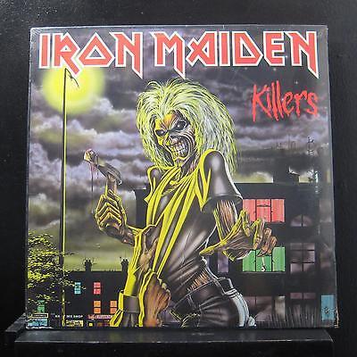 Iron Maiden Killers Lp New Sealed St 12141 1981 Usa
