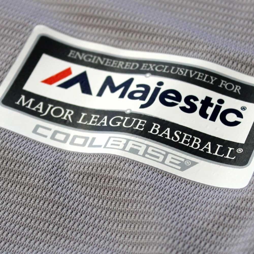 MLB Baseball Trikot St. Louis Louis Louis Cardinals Road grau Cool base Majestic Jersey 7a2ba2