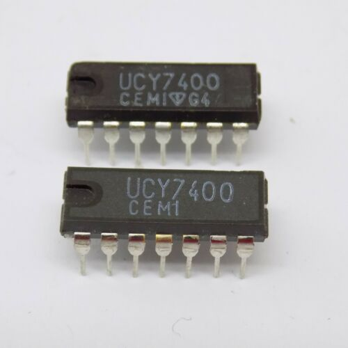 1x UCY7400 CEMI NOS DIP-14 IC 7400