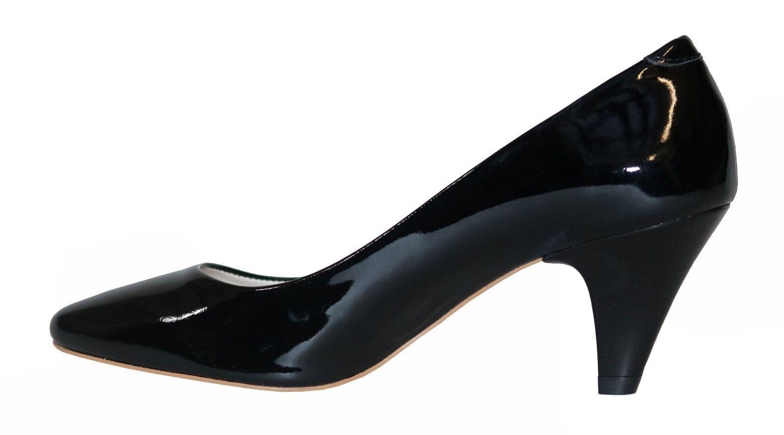 Damen Schuhe Pumps Elegant Gr.37 Schwarz