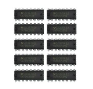 10-x-SN74HC595N-74HC595-Texas-Instruments-8-Bit-Shift-Registers