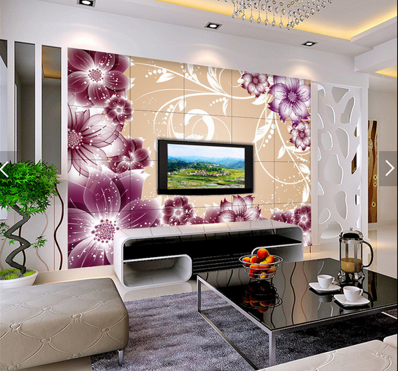 3D Flower Adorn 421 Wallpaper Murals Wall Print Wallpaper Mural AJ WALL AU Kyra