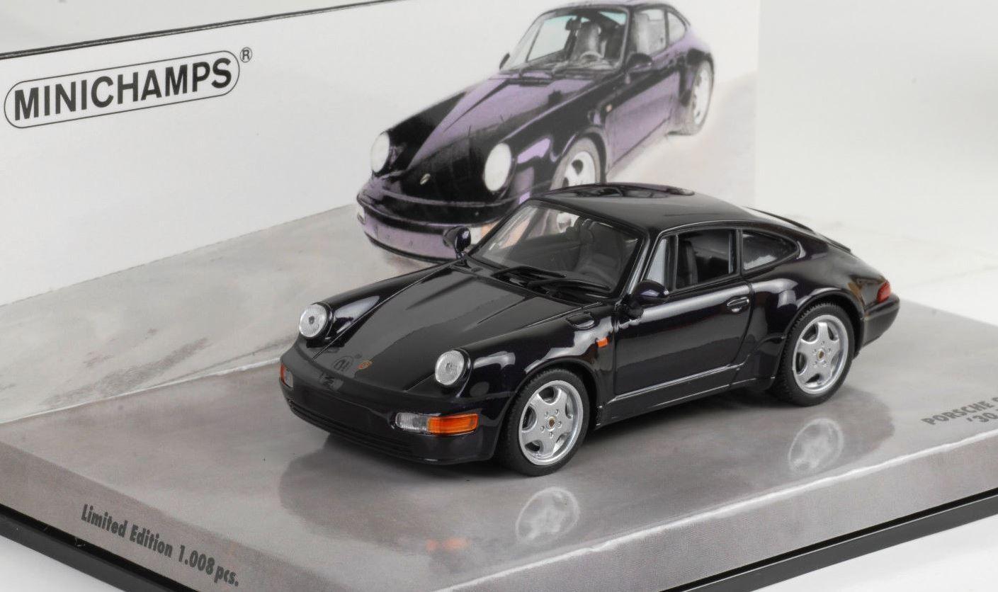 Minichamps Porsche 911 964 anniversaire 30 Jahre Violet 1 43 1 1008 436069171