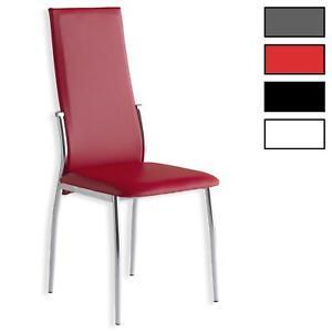 Lot-de-4-chaises-de-salle-a-manger-pietement-chrome-simili-cuir-4-coloris-dispo