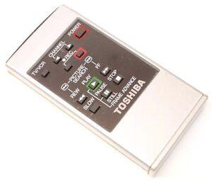 Toshiba-150715W-VCR-Remote-Control-150821B-150523A