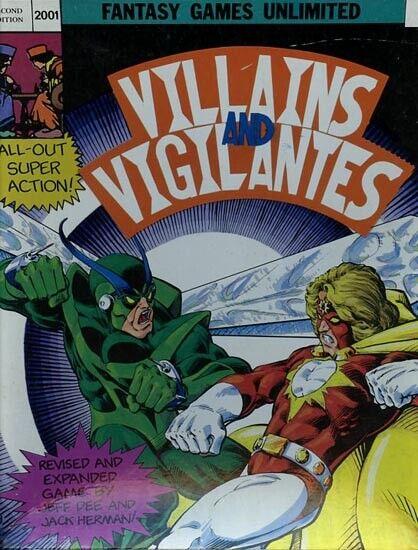 VILLAINS &GILANTES ECl V&V scatolaed Set Supereroe eroe FGU Super scatola  2001