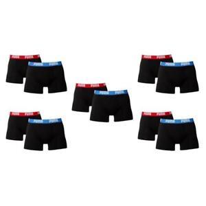 Boxer 505 Pack S XL Neu Bleu Short 10 L 521015001 M Rouge Boxershort Puma TCw1Enq5