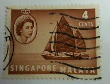 Willie: Singapore Malaya 4cent
