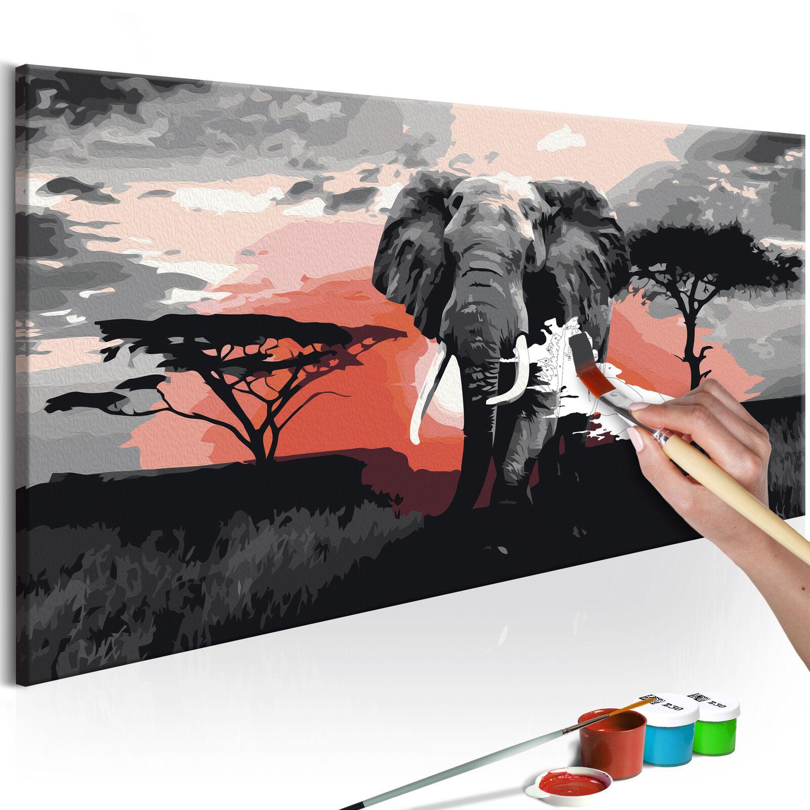 Malen nach Zahlen Erwachsene Wandbild Malset mit Pinsel Malvorlagen n-A-0367-d-a