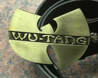 Wu Tang Clan Hip Hop Music Band Belt Buckle