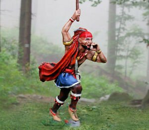 COLLECTORS-SHOWCASE-CS00893-Iroquois-With-Warclub