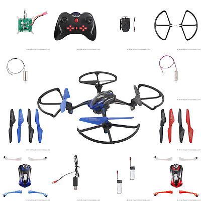 RC Drohne Rayline R8 Lishi Toys L6052W Ersatzteile Motor Antrieb Kabel Rot Blau