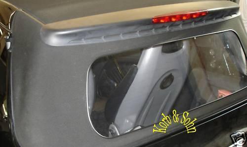 Smart Cabrio Verdeck Rep Set Scheibe Heckscheibe PVC Riss Schnitt schweissen