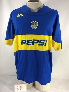 964cc1b54 Image is loading CABJ-Club-Atletico-Boca-Juniors-Sports-PEPSI-Mens-
