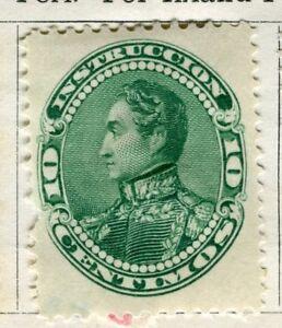 100% De Qualité Venezuela; 1893 Early Classic Question Intérieure 10c. Mint Charnière Valeur-afficher Le Titre D'origine