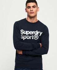 Superdry Mens Core Sport Crew Sweatshirt