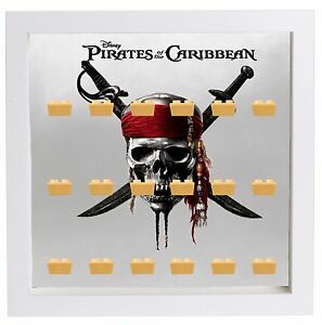Lego Minifigures Display Case Picture Frame Pirates Of The Caribbean