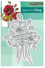 New Cling Penny Black RUBBER STAMP FRESH  SPRING  flowers blooms free us shp