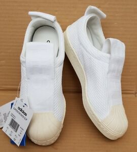 White Superstar taglia Uk 5 Adidas ultimo Bnib On stile 4 Slip Ice nuovissimo 4fgFHqw